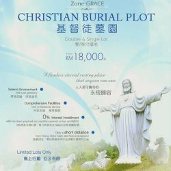 New Launch Promotion —— Christian Burial Plot